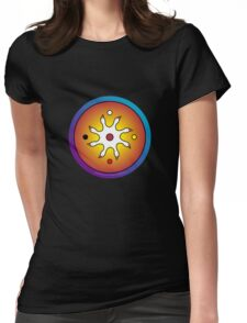 the precious ones... a sacred drum design... Womens Fitted T-Shirt
