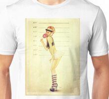 Pin Up Mugshot Unisex T-Shirt