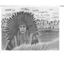 Native Chief Photographic Print