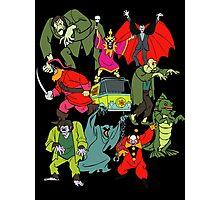 Scooby Doo Villians Photographic Print