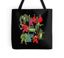 Scooby Doo Villians Tote Bag