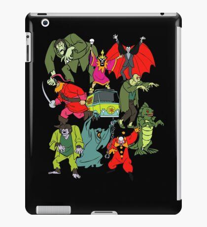 Scooby Doo Villians iPad Case/Skin