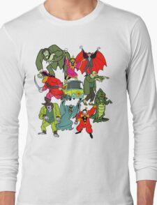 Scooby Doo Villians Long Sleeve T-Shirt