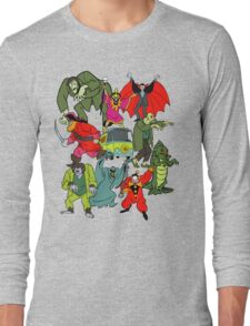 Scooby Doo Villians Long Sleeve T-Shirt