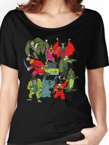 Scooby Doo Villians Women's Relaxed Fit T-Shirt