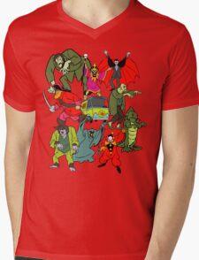 Scooby Doo Villians Mens V-Neck T-Shirt