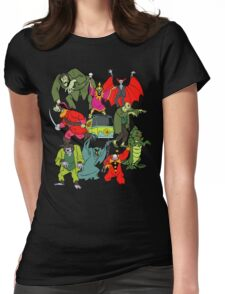 Scooby Doo Villians Womens Fitted T-Shirt