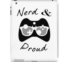 Nerd & Proud (dark) iPad Case/Skin