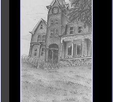 Skene Manor Illustration by PoeticHeartArt