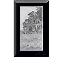 Skene Manor Illustration Photographic Print