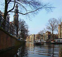 Amsterdam Canals by Al Bourassa