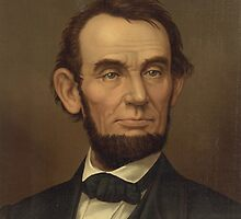 Portrait of President Abraham Lincoln (Made in 1877) by allhistory