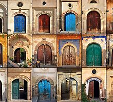 Doors of Sinasos by Hercules Milas