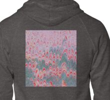 Hills and trees Zipped Hoodie