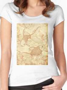 Goldfishes Nr. 2 Women's Fitted Scoop T-Shirt