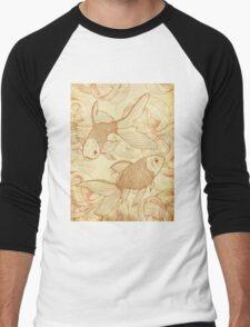 Goldfishes Nr. 2 Men's Baseball ¾ T-Shirt