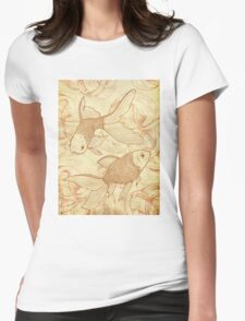 Goldfishes Nr. 2 Womens Fitted T-Shirt
