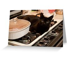 Guess Who's Coming for Dinner !! Greeting Card