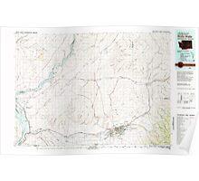 USGS Topo Map Washington Walla Walla 244513 1980 100000 Poster