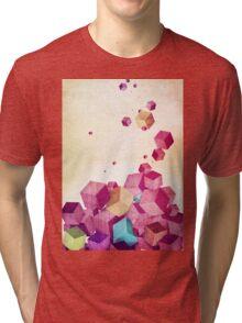 Color Cubes Tri-blend T-Shirt