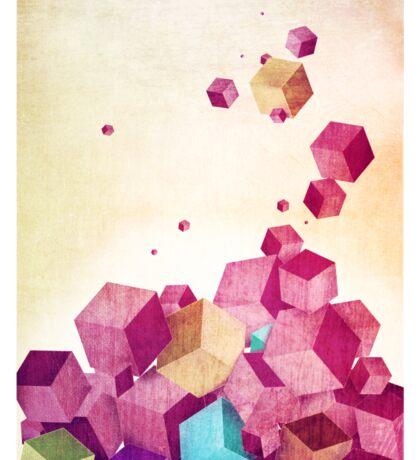 Color Cubes Sticker