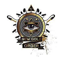 New Gold Order Photographic Print