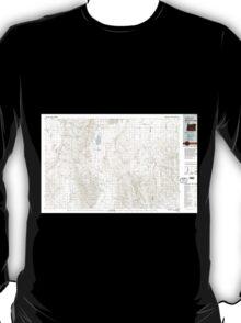 USGS Topo Map Oregon Alvord Lake 283044 1982 100000 T-Shirt