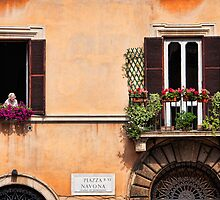 Piazza Navona nonna by dgt0011