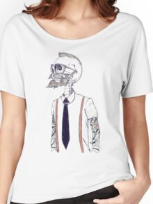 The Gentleman becomes a Hipster Women's Relaxed Fit T-Shirt