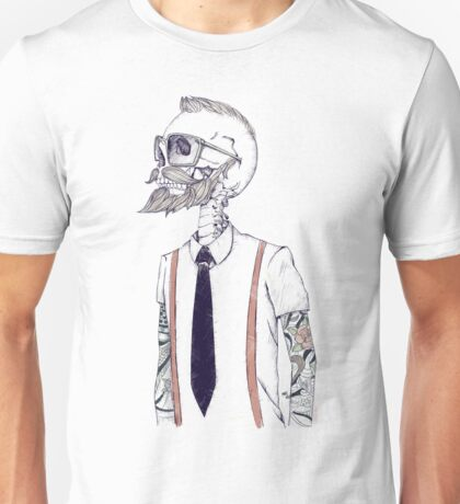 The Gentleman becomes a Hipster Unisex T-Shirt