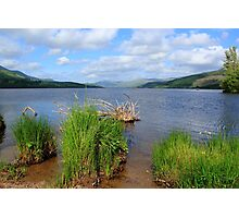 View from the shore at Loch Tay Photographic Print