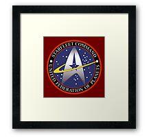 Starfleet Command Framed Print