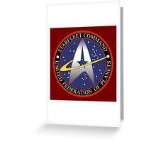 Starfleet Command Greeting Card
