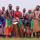 Traditional Intore Dancers of Rwanda by Tony Walton