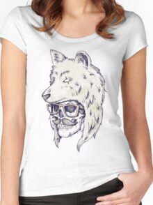 Wolf Hat Women's Fitted Scoop T-Shirt