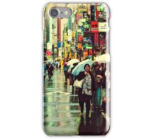 Kichijoji Backroad in the Rain iPhone Case/Skin