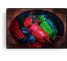 Brightly Wrapped Canvas Print