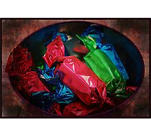 Brightly Wrapped Photographic Print