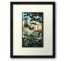"""A Hunt Country Garden"" Framed Print"