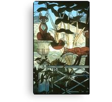 """A Hunt Country Garden"" Canvas Print"