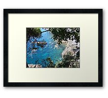 Inspiration through water Framed Print