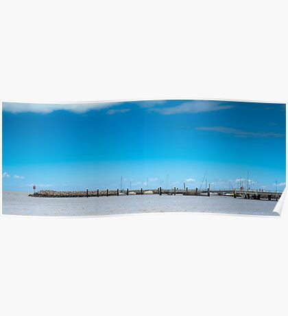 Landscape from Redcliffe Beach Poster