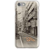 Shinjuku Sidestreet iPhone Case/Skin