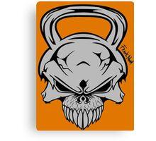 Skull Weight  Canvas Print