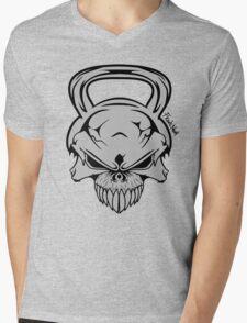 Skull Weight  Mens V-Neck T-Shirt
