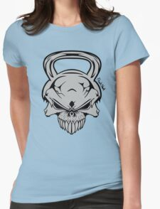 Skull Weight  Womens Fitted T-Shirt