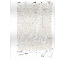 USGS Topo Map Oregon North Fork 20110811 TM Poster