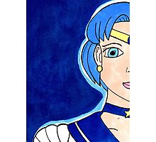 Sailor Mercury - Soldier of Water & Intellect Photographic Print