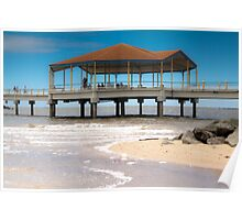 The Redcliffe Pier Poster