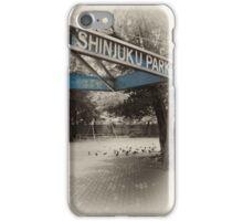 Shinjuku Park iPhone Case/Skin